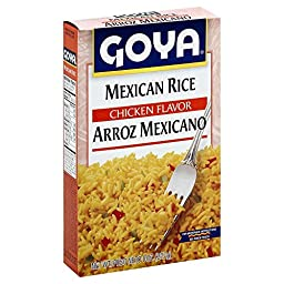 Goya Mexican Rice Mix 8.0 OZ (Pack of 6)