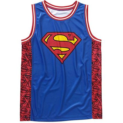 Superman+tank+tops Products : DC Comics Superman Logo Licensed Graphic Jersey Tank Top
