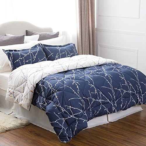 Quilt Set Twin Single (Bedsure 6 Piece Comforter Set Twin Size (68
