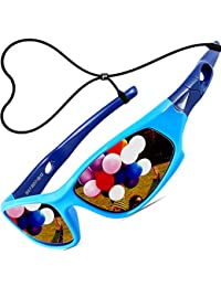 Kids Hot TR90 Polarized Sports Sunglasses For Boys Girls...