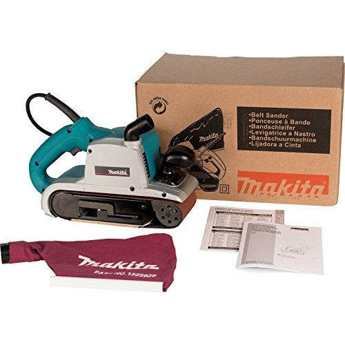 makita 9403 4 x 24 belt sander with cloth dust bag import it all. Black Bedroom Furniture Sets. Home Design Ideas
