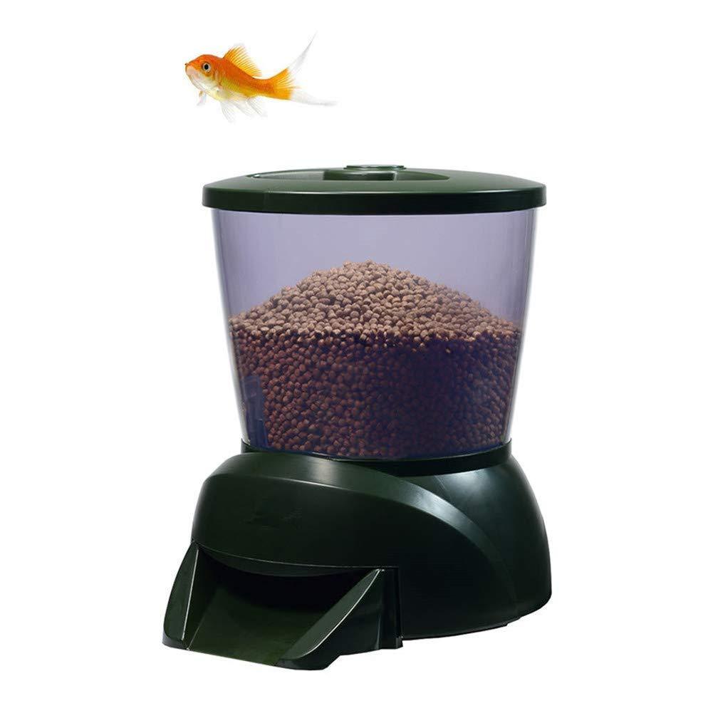 Automatic Feeding Device Aquarium Fish Tank Feeding Machine LCD Display Timing Quantitative Fish Pond Feeder
