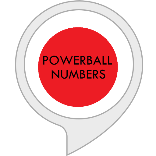 My Powerball Numbers