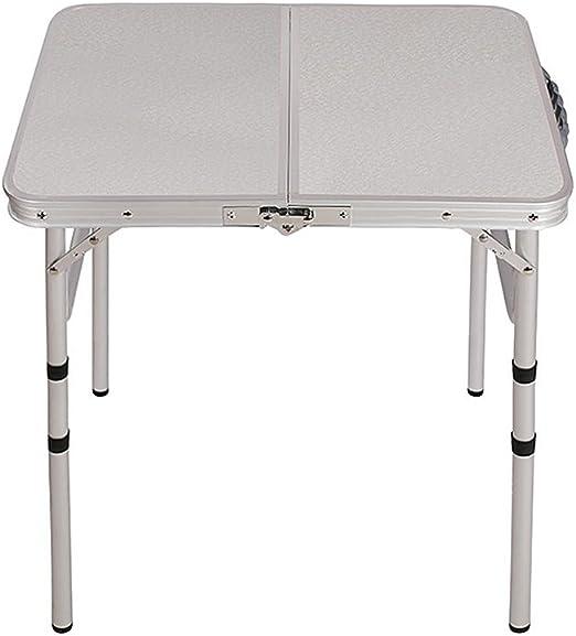 Mesa de Camping Plegable portátil al Aire Libre Plegable en la ...