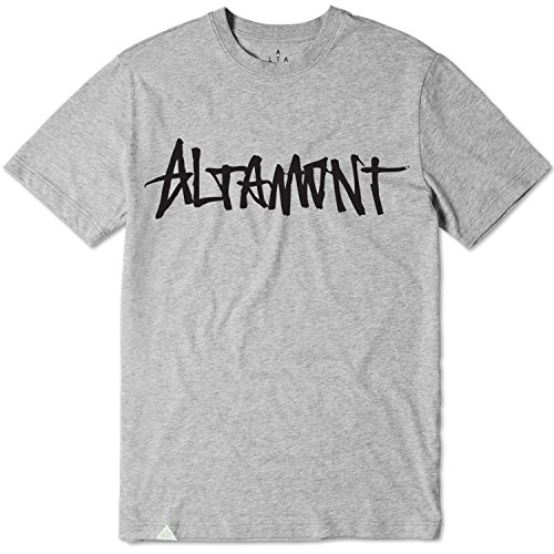 Tee Altamont (ALTAMONT T-Shirt ONE Liner Grey Size S)