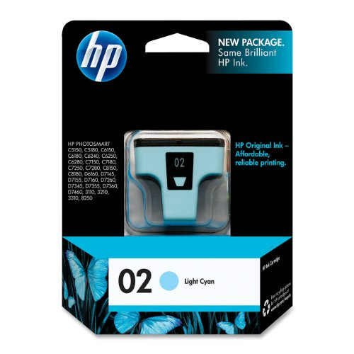 (HP C8774WN#140 02 Light Cyan Original Ink Cartridge For Photosmart 3110, 3210, 3310, 6580, 8250, C5140, C5150, C5180, C6150, C6180, C6185, C6240, C6250, C6280, C6286, C7150, C7180, C7250, C7280, C8150, C8180, D6160, D7145, D7155, D7160, D7245, D7255, D7260…)