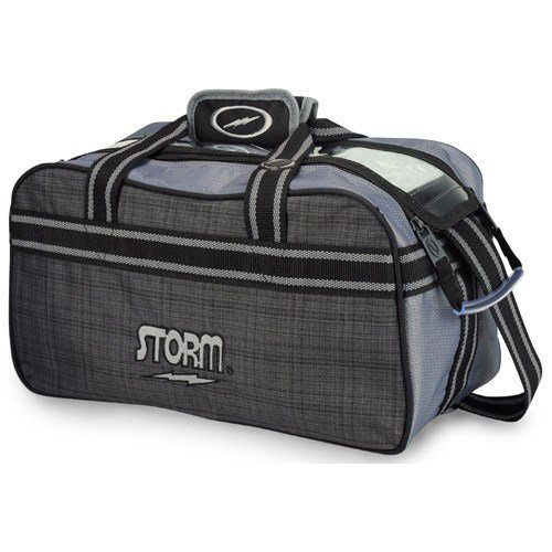 Storm 2 Ball Tote Charcoal Plaid/Grey/Black