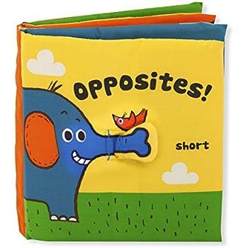 Melissa & Doug Soft Activity Baby Book - Opposites
