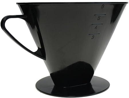 Filtro de café de plástico para 6 tazas.: Amazon.es: Hogar