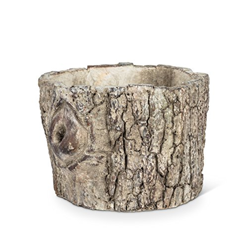 Abbott Collection 27-BOIS-561-SM Log Planter, Brown ()