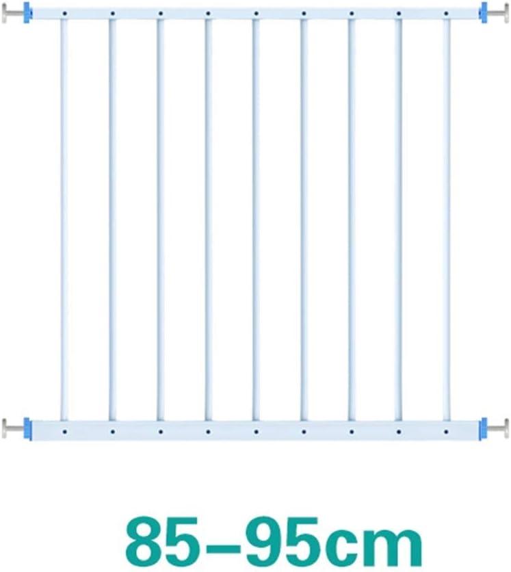 Wei/ß Color : Height 50cm, Size : Length 85-95cm Passform 85-335 cm Metall PNFP Extra breite Fenstergitter Kinder Kindersicherheitsfenstergitter Innen