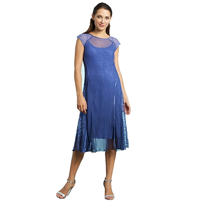 complete in specifications discover latest trends on sale online Komarov Women's Cap Sleeve Dress at Amazon Women's Clothing ...