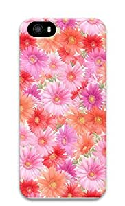 iPhone 5 5S Case Nature Flowers 5 3D Custom iPhone 5 5S Case Cover