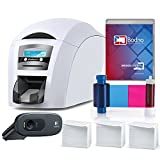 id card maker machine - Magicard Enduro 3e Dual Sided ID Card Printer & Complete Supplies Package with Bodno ID Software