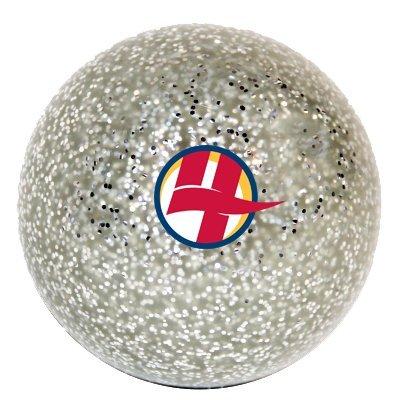 Smooth Hockey Ball - Silver Glitter Smooth Hockey Ball