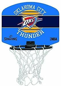 Spalding NBA Miniboard Oklahoma City 77-659Z Minicanasta, Unisex ...