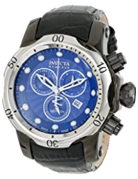 Invicta Men's 13906 Venom Analog Display Swiss Quartz Black Watch