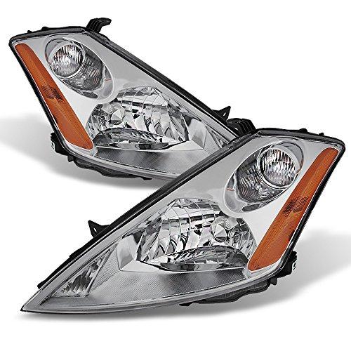- ACANII - For 2003 2004 2005 2006 2007 Murano Headlights Headlamps Halogen Type Driver + Passenger Side