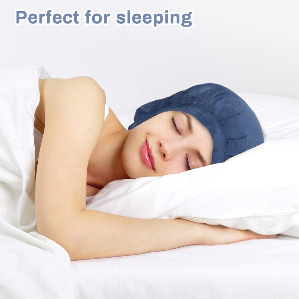 3 piezas Gorro de Dormir Mujer Pura Seda Sombrero para Dormir el/ástico Hace Que tu Cabello se Sienta Sedoso y Mantiene el Estilo LINGSFIRE Gorro de dormir de terciopelo