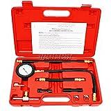 Truck Car Fuel Injection Pump Pressure Gauge Tester Tuner Gastest Tools Case