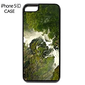 Waterfall Nature Apple iPhone 5C PLASTIC cell phone Case / Cover Great Gift Idea