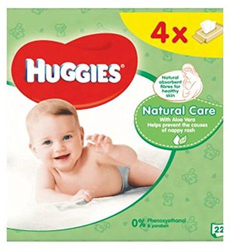 Huggies Toallitas Húmedas Para Bebés Cuidado Natural Quads 56