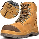 ROCKROOSTER Work Boots for Men – Safety Leather Shoes