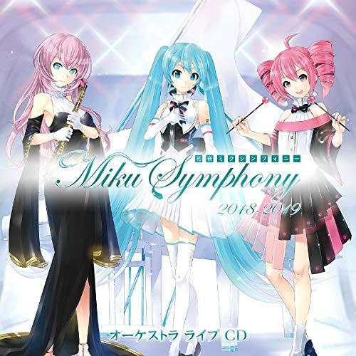 Hatsune Miku Symphony Miku Symphony 2018-2019 Orchestra Live Cd (Miku Hatsune Cd)