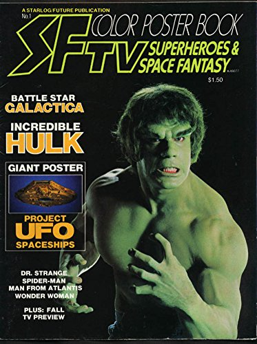 Science Fiction Color Poster Book #1 – Hulk, Galactic, Wonder Woman