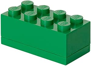 Room Copenhagen 40120634 LEGO Mini Box, Brick 8, Dark Green