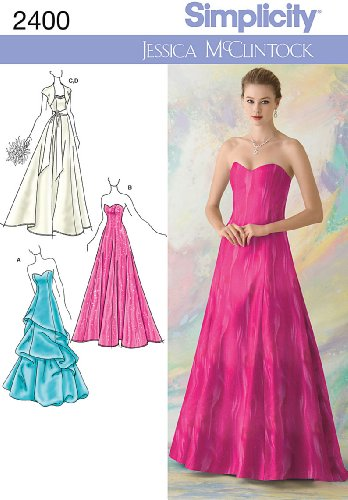 Simplicity Sewing Pattern 2400 Misses Special Occasion Dresses, P5 (12-14-16-18-20)