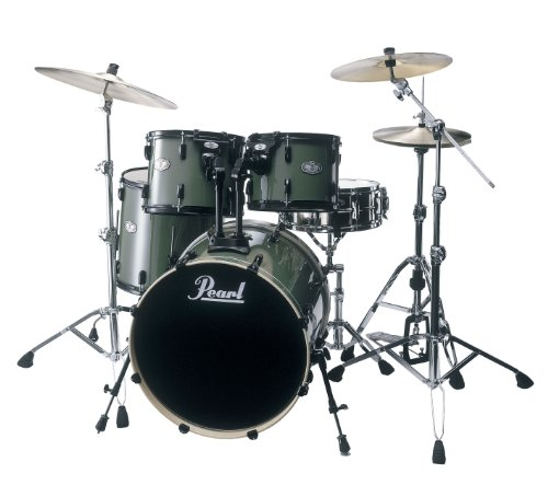 pearl-vision-vx925-b84-drum-kit-olive-green-cymbals-not-included
