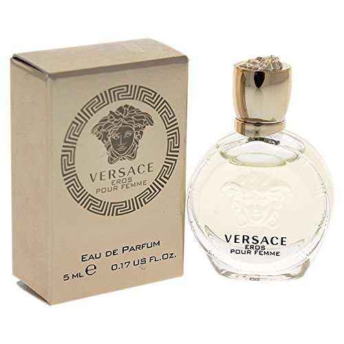 Women Edp Splash Mini (Versace Eros Pour Femme Women's Edp Splash, 0.17 Ounce)