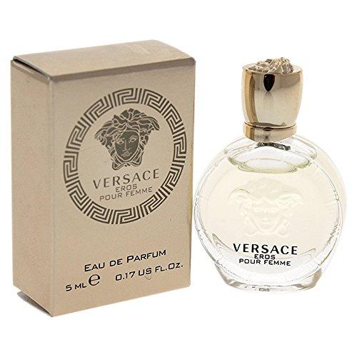 Versace Eros Pour Femme Women's Edp Splash, 0.17 Ounce (Mini Splash Edp Women)