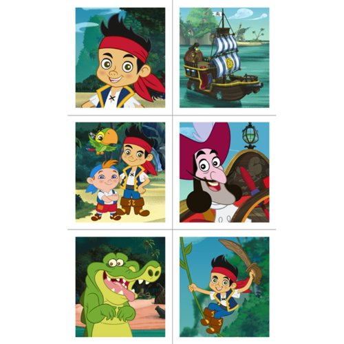Hallmark Disney Jake and The Never Land Pirates Sticker Sheets]()