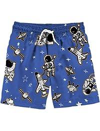 5e32e8a427 Boys 3D Printed Funny Swim Trunks Quick Dry Beachwear Sports Running Swim  Board Shorts