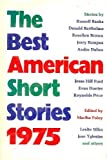 The Best American Short Stories, Foley, Martha, 0395207193