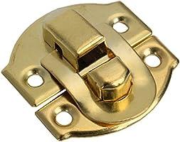 BQLZR Gelb Mini Spannverschluss Buckle Schnappverschluss f/ür Schr/änkchen Schublade