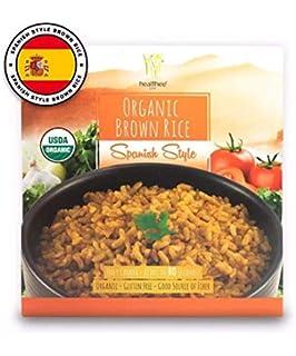 Arroz marrón orgánico, sin gluten, totalmente cocinado y ...