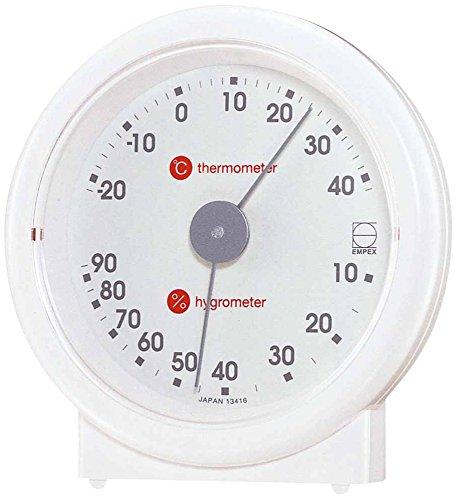 EMPEX ( Enpekkusu ) temperature and hygrometer revision temperature and hygrometer'u—pLV-4601 White by Enpekkusu (EMPEX)