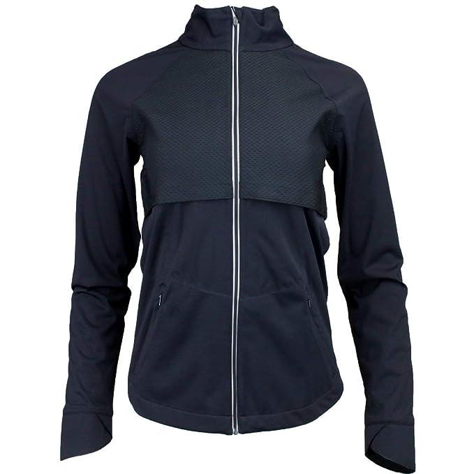 Asics Womens Lite Show Running Jacket Top Black Sports