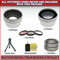 Telephoto Wide Angle Highd Lens Set 37mm 34mm 30mm 25mm