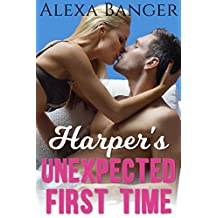 Harper's Unexpected First Time (Older Man Younger Woman First Time Pregnancy Romance)