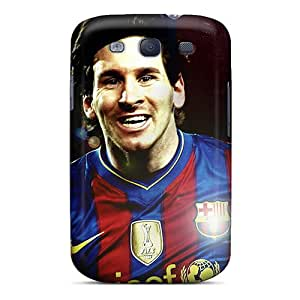 Galaxy S3 Cover Case - Eco-friendly Packaging(forward Player Of Barcelona Lionel Messi)