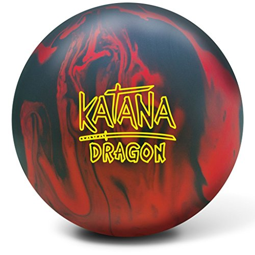Radical Bowling Katana Dragon Ball, Red/Black, Size 15