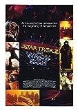 "Star Trek: The Wrath of Khan - Authentic Original 17"" x 24"" Movie Poster"