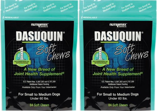 Nutramax Dasuquin Soft Chews for S/M Dogs 168ct (2 x 84ct)