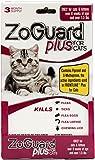 ZoGuard Plus - Cat (over 1.5 lbs) (3 dose) flea tick lice flea eggs larvae kills prevent. Better than spray powder collar