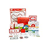 Teach My Kindergartener Learning Kit Deluxe, Red