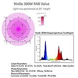 Niello 300W LED Grow Light, Professional LED Grow